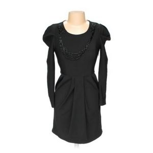 Zara Woman LBD with Statement Sleeves - Size XL